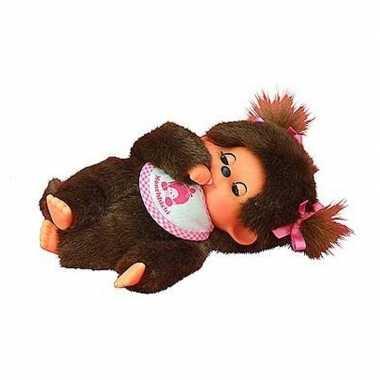 Monchhichi aap pop/knuffel 20 cm