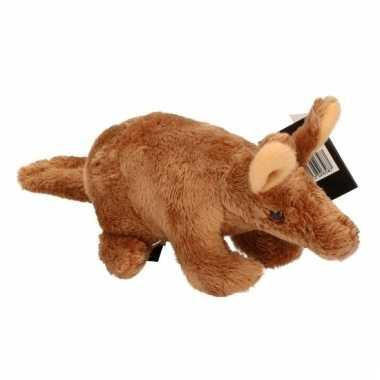 Pluche aardvarken knuffel 18 cm