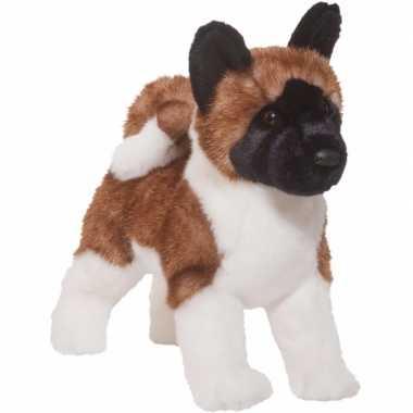 Pluche akita hond knuffel 41 cm