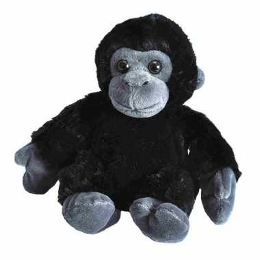 Pluche baby gorilla aap knuffel 18 cm