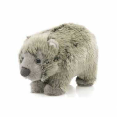 Pluche baby wombat knuffels van 15 cm