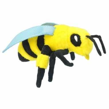 Pluche bijen knuffel 25 cm