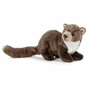 Pluche boommarter knuffel 25 cm speelgoed