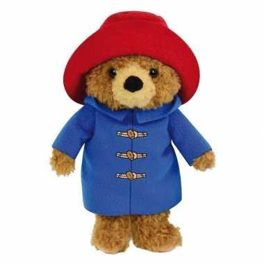 Pluche bruine beer paddington beren knuffel 17 cm speelgoed