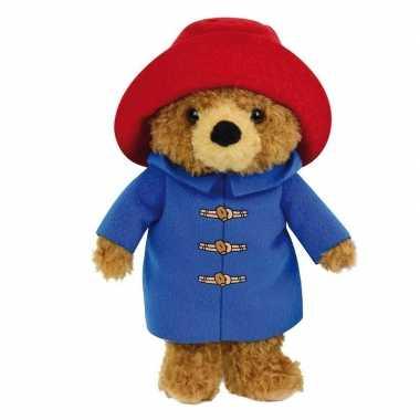 Pluche bruine beer paddington beren knuffel 27 cm speelgoed