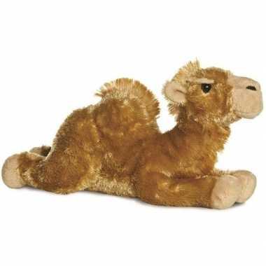 Pluche bruine kameel/kamelen knuffel 30 cm speelgoed