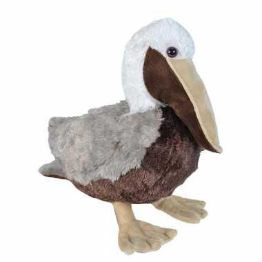 Pluche bruine pelikaan knuffel 30 cm