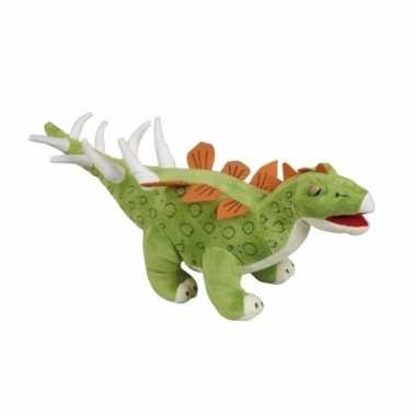 Pluche dinosaurus knuffel stegosaurus 43 cm