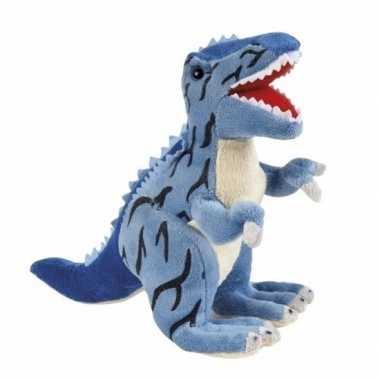 Pluche dinosaurus knuffel t rex 30 cm