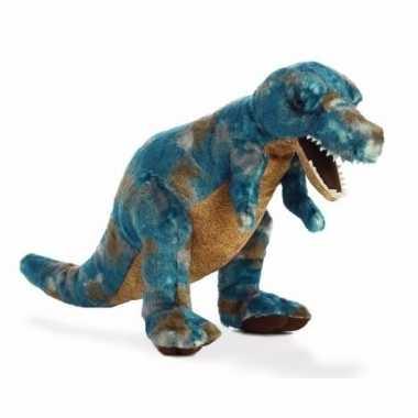 Pluche dinosaurus knuffel t rex 35,5 cm