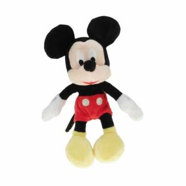 Pluche disney mickey mouse knuffel 18 cm speelgoed