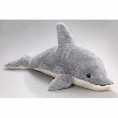 Pluche dolfijn knuffel 78 cm