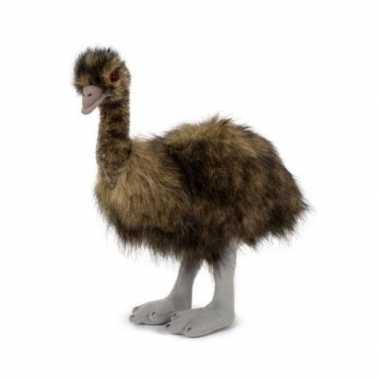Pluche emoe/struisvogel knuffel 38 cm speelgoed