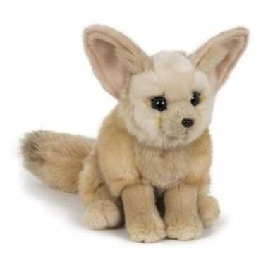 Pluche fennek/woestijnvos knuffel 23 cm speelgoed