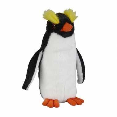 Pluche gekleurde pinguin vogel knuffel 18 cm speelgoed
