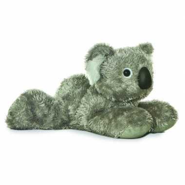 Pluche grijze koala knuffel 20 cm speelgoed