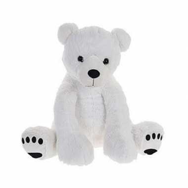 Pluche grote ijsbeer/beren knuffel 74 cm speelgoed