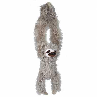 Pluche hangende luie luiaard knuffel 40 cm