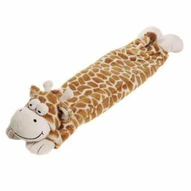 Pluche hotpack knuffel giraffe