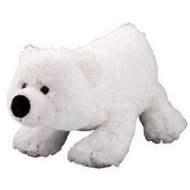 Pluche ijsbeer knuffel 20 cm