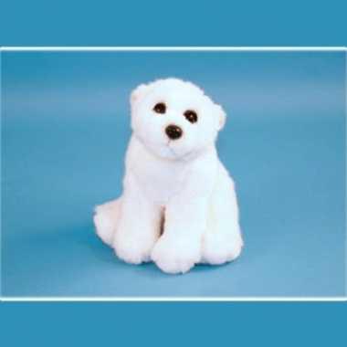 Pluche ijsbeer knuffel 23 cm