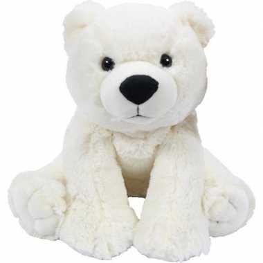 Pluche ijsbeer knuffel 28 cm