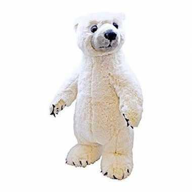 Pluche ijsbeer knuffel 50 cm