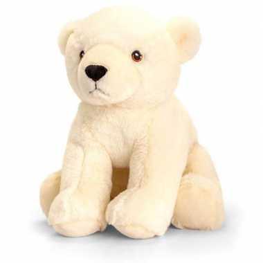 Pluche ijsbeer knuffel van 25 cm