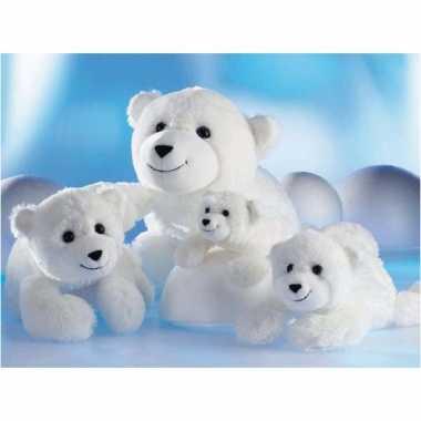 Pluche ijsbeer knut knuffel 26 cm