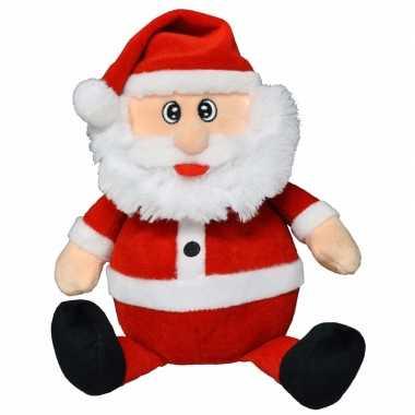 Pluche kerstman knuffel 25 cm 10095908
