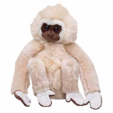 Pluche knuffel gibbon aap 22 cm