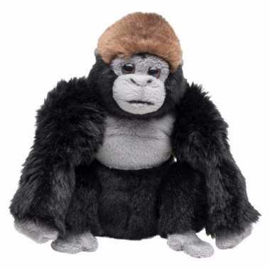 Pluche knuffel gorilla 18 cm