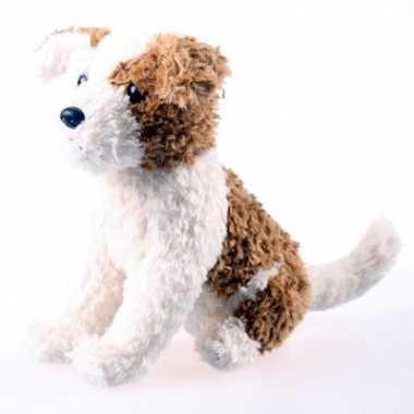 Pluche knuffel hond 22 cm