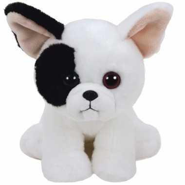 Pluche knuffel hond/puppy ty beanie marcel 33 cm
