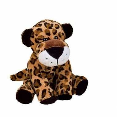 Pluche knuffel luipaard / jachtluipaard 20 cm
