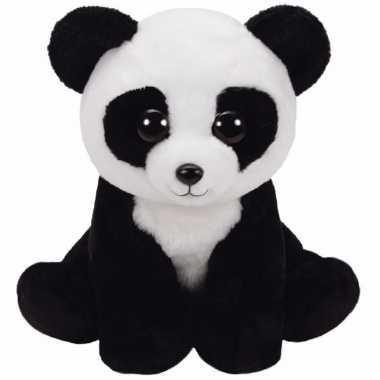 Pluche knuffel panda ty beanie baboo 27 cm