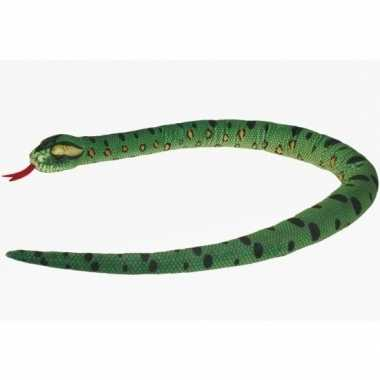 Pluche knuffel slang anaconda 150 cm