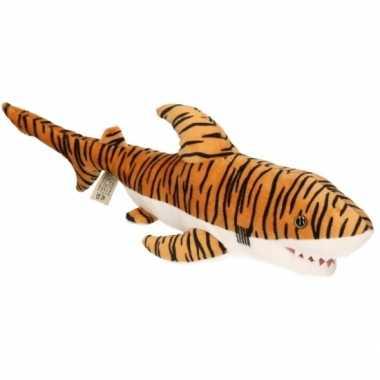 Pluche knuffel tijgerhaai 43 cm