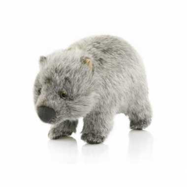 Pluche knuffel wombat 25 cm