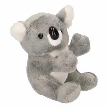 Pluche koala knuffel beer 14 cm