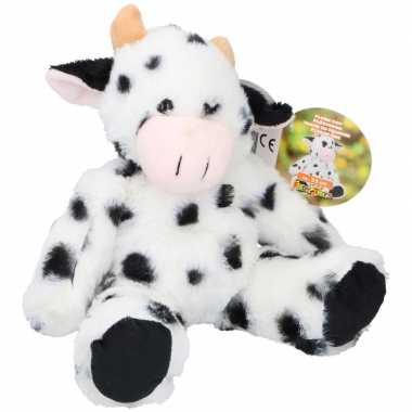 Pluche koe/koeien knuffel 25 cm speelgoed