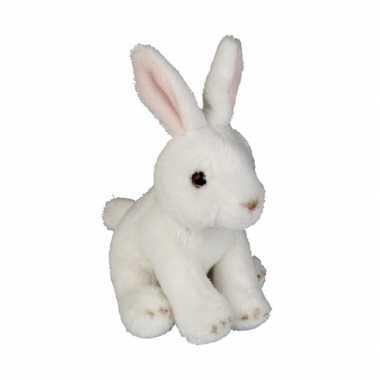 Pluche konijn knuffel 15 cm