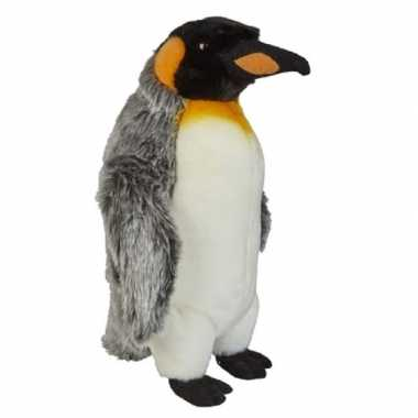 Pluche koningspinguin knuffel 32 cm speelgoed