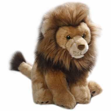 Pluche leeuw knuffel 30 cm