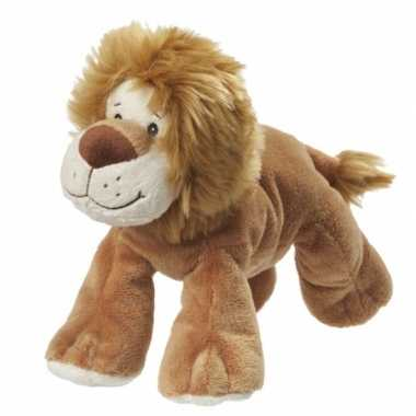Pluche leeuwen knuffel van 22 cm