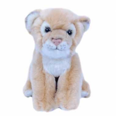 Pluche leeuwin/welpje knuffel 20 cm