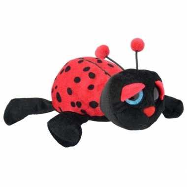 Pluche lieveheersbeestje knuffel 21 cm