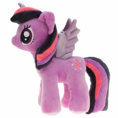 Pluche lila my little pony twilight sparkle knuffel 27 cm speelgoed