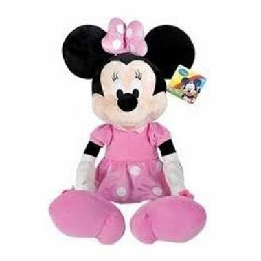 Pluche minnie mouse knuffel 43 cm