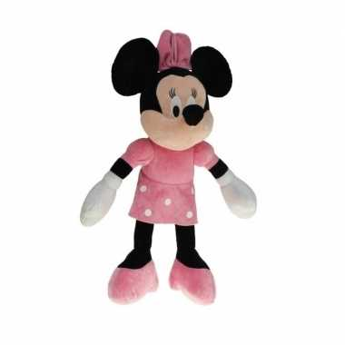 Pluche minnie mouse knuffel 80 cm